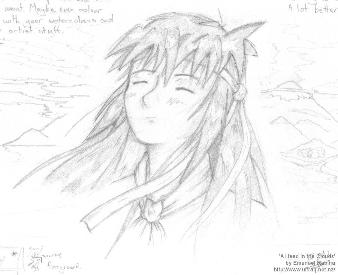 A Head In The Clouds (Original)