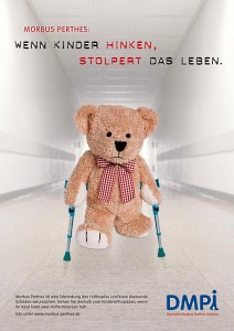 Limping teddy